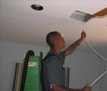 Brandon Walker, Cleaning Ductwork