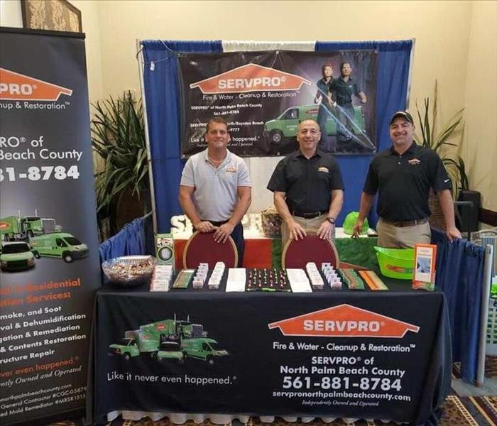 SERVPRO of North Palm Beach County crew at CondoFest